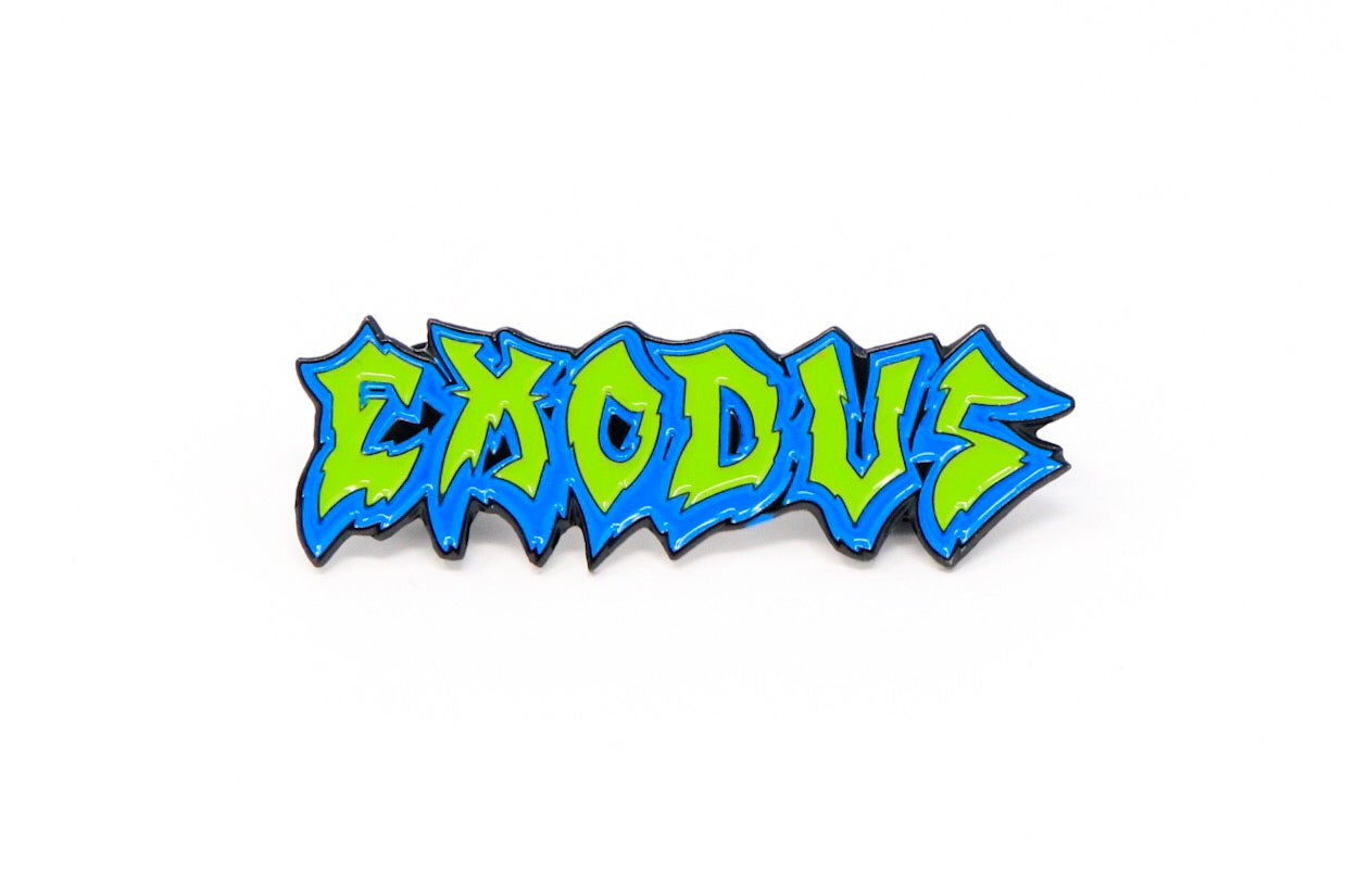 Image of Exodus - Fabulous Disaster Enamel Pin