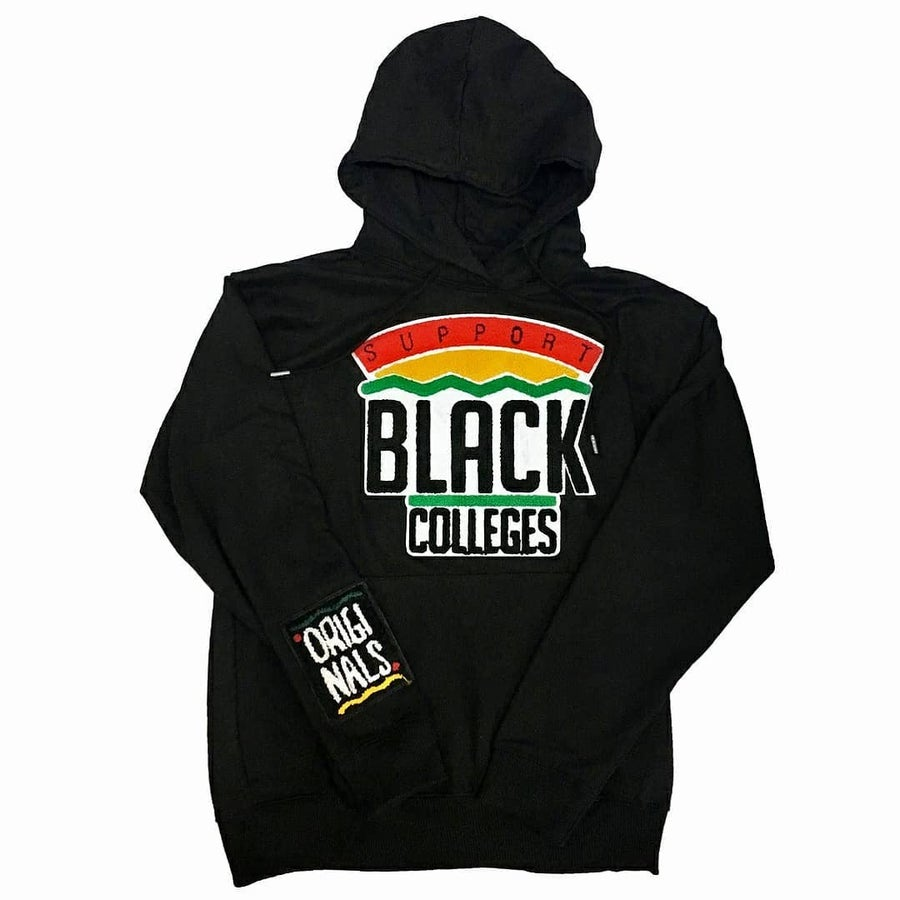 Image of BK - Originals - Black Support Black Colleges Hoodie