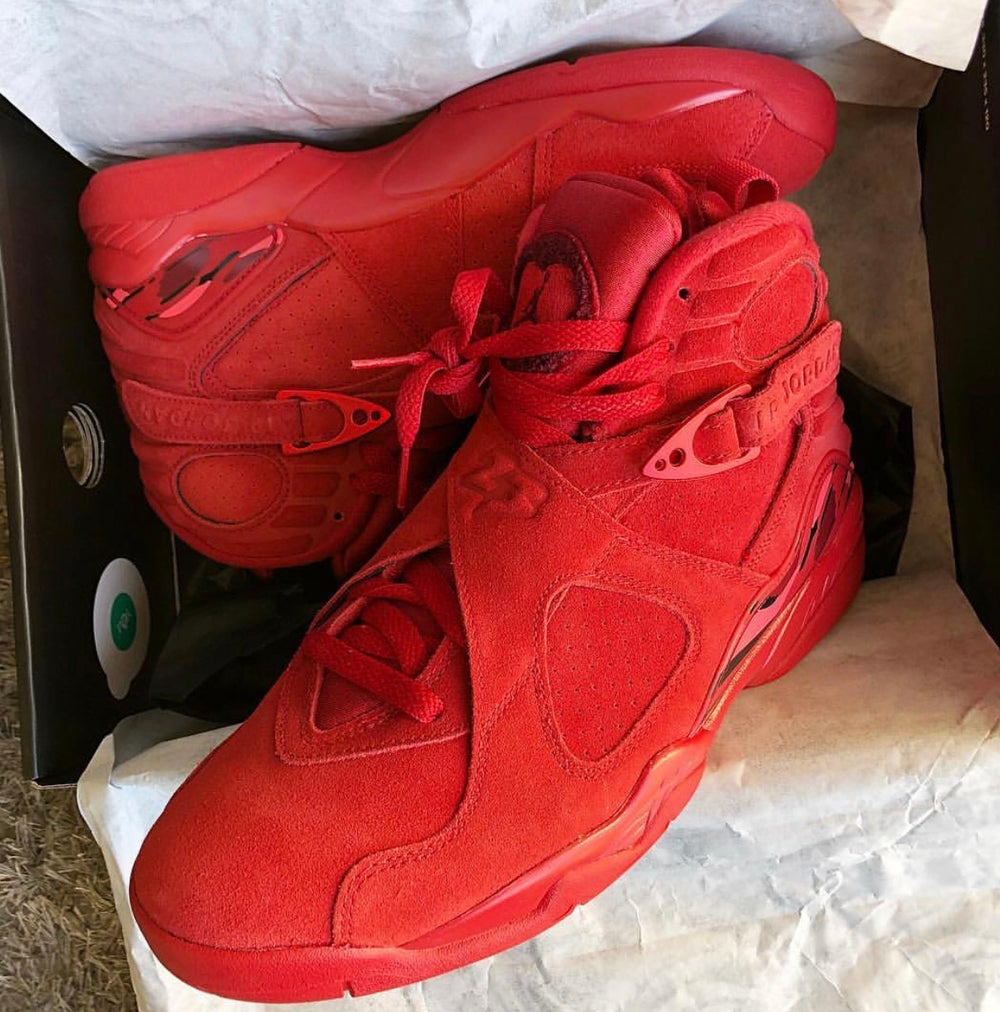 "cd7937eb25c72e The SHOP - KIS — Air Jordan retro 8 ""red suede"""