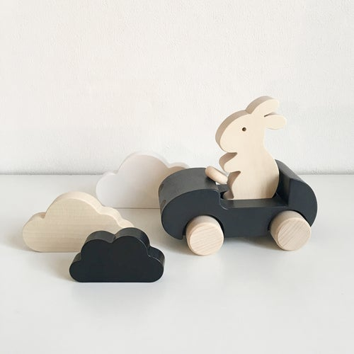 Image of Bunny Car Noir