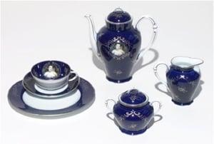 Image of Cindy Sherman - Madame de Pompadour (née Poisson), Tea/breakfast service