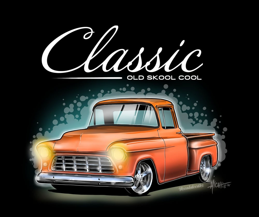 Image of Classic Old Skool 55 orange