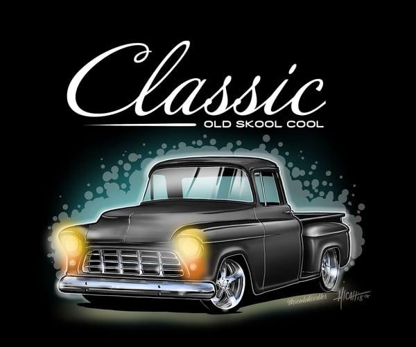 Image of Classic ol Skool 55 black