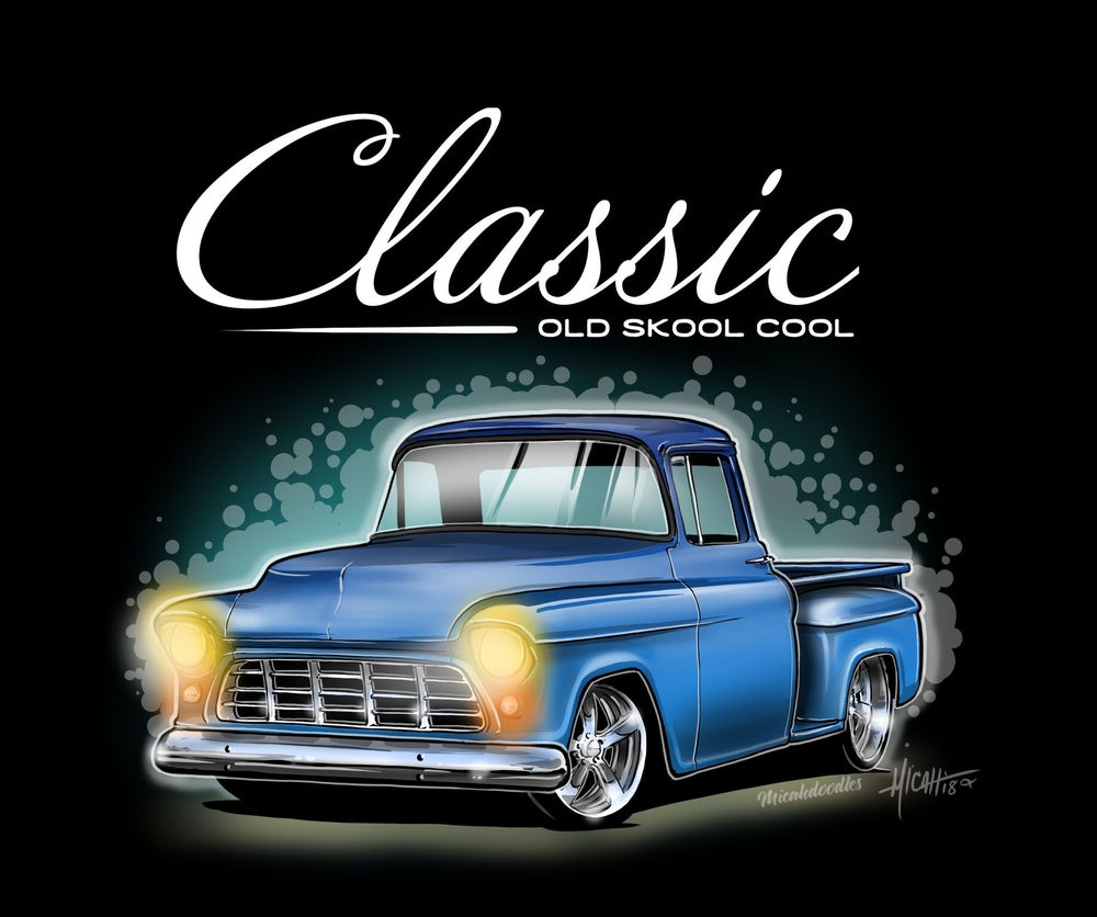 Image of Classic ol Skool 55 blue