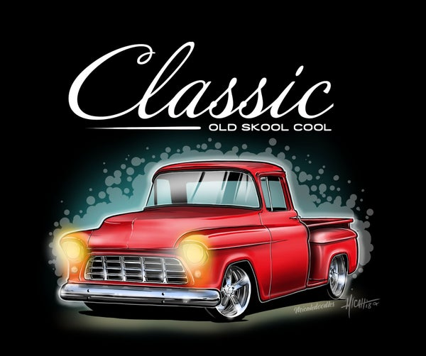Image of Classic ol Skool 55 Red