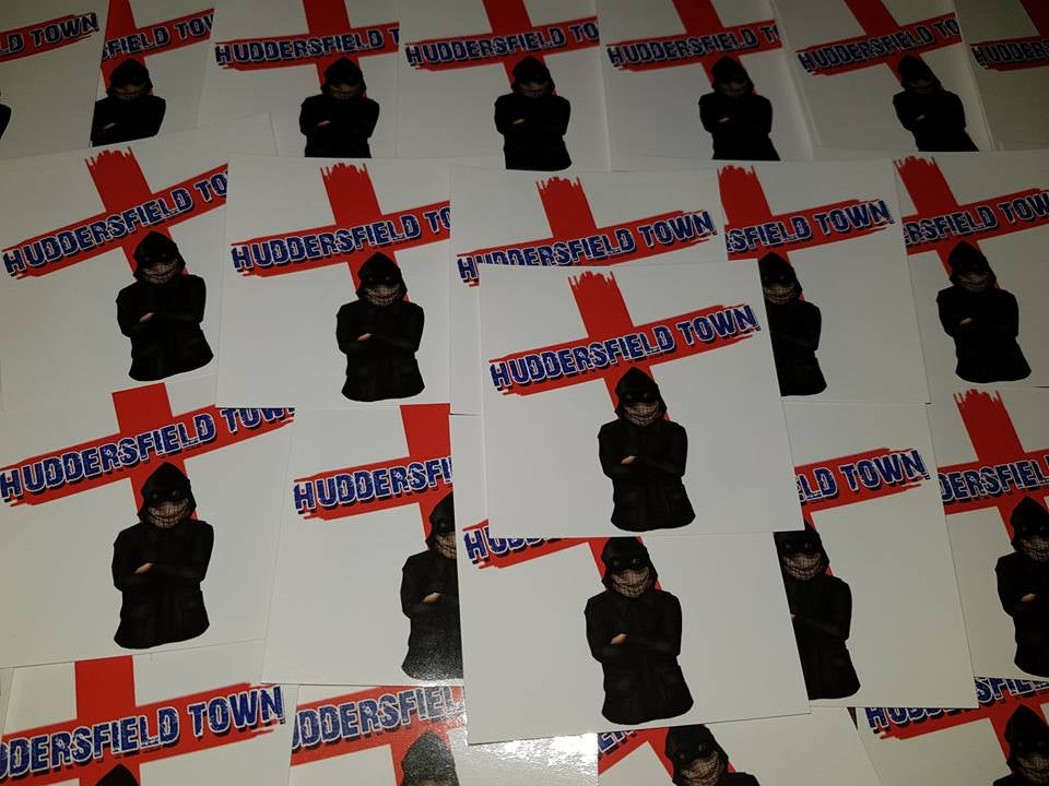 Huddersfield Town 25 Ultras/Casuals/Hooligans sticker pack.