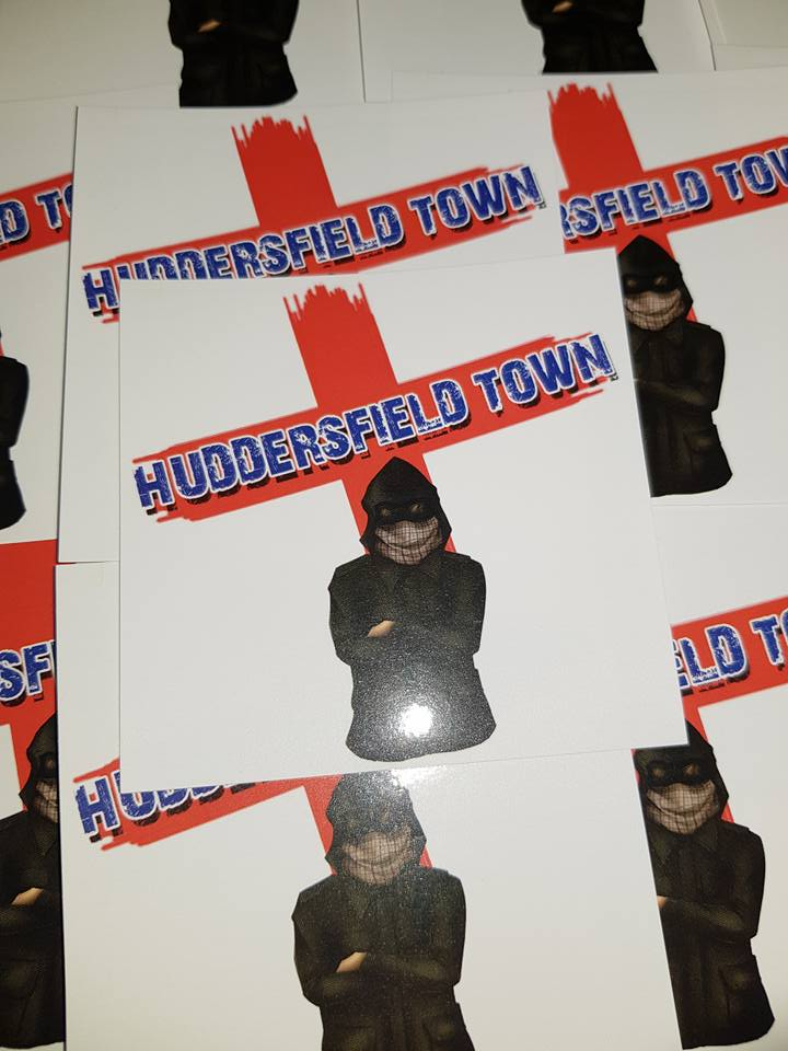 Image of Huddersfield Town 25 Ultras/Casuals/Hooligans sticker pack.