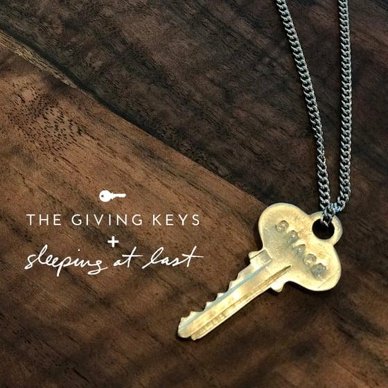 "Image of Enneagram 1 - ""GRACE"" Key Necklace"