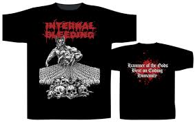 Image of INTERNAL BLEEDING T-SHIRTS