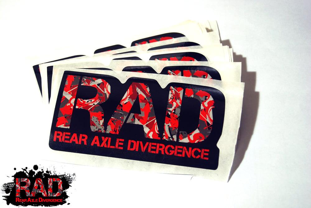 Image of Diecut RAD Logo