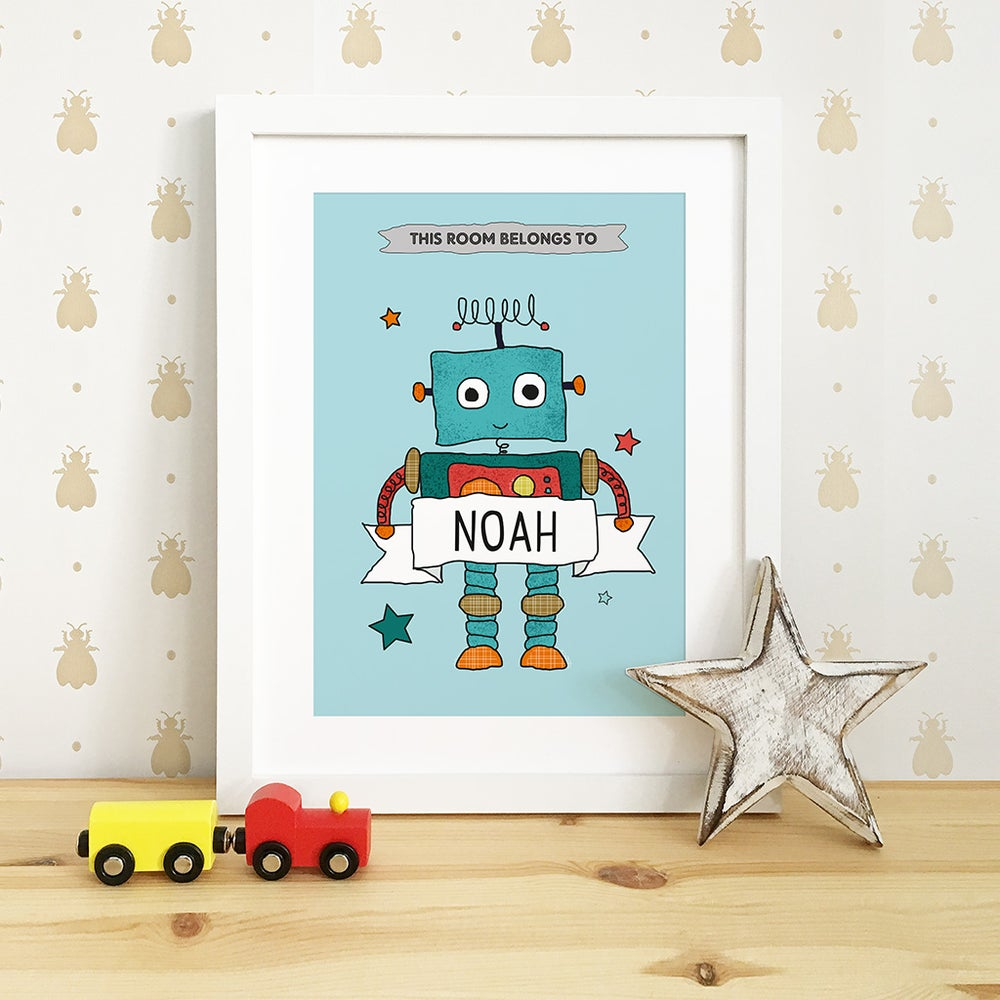 Image of Personalised Nursery Prints