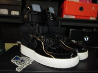 """Air Force 1 High SF SE Premium """"Black Patent"""" WMNS - areaGS - KIDS SIZE ONLY"""