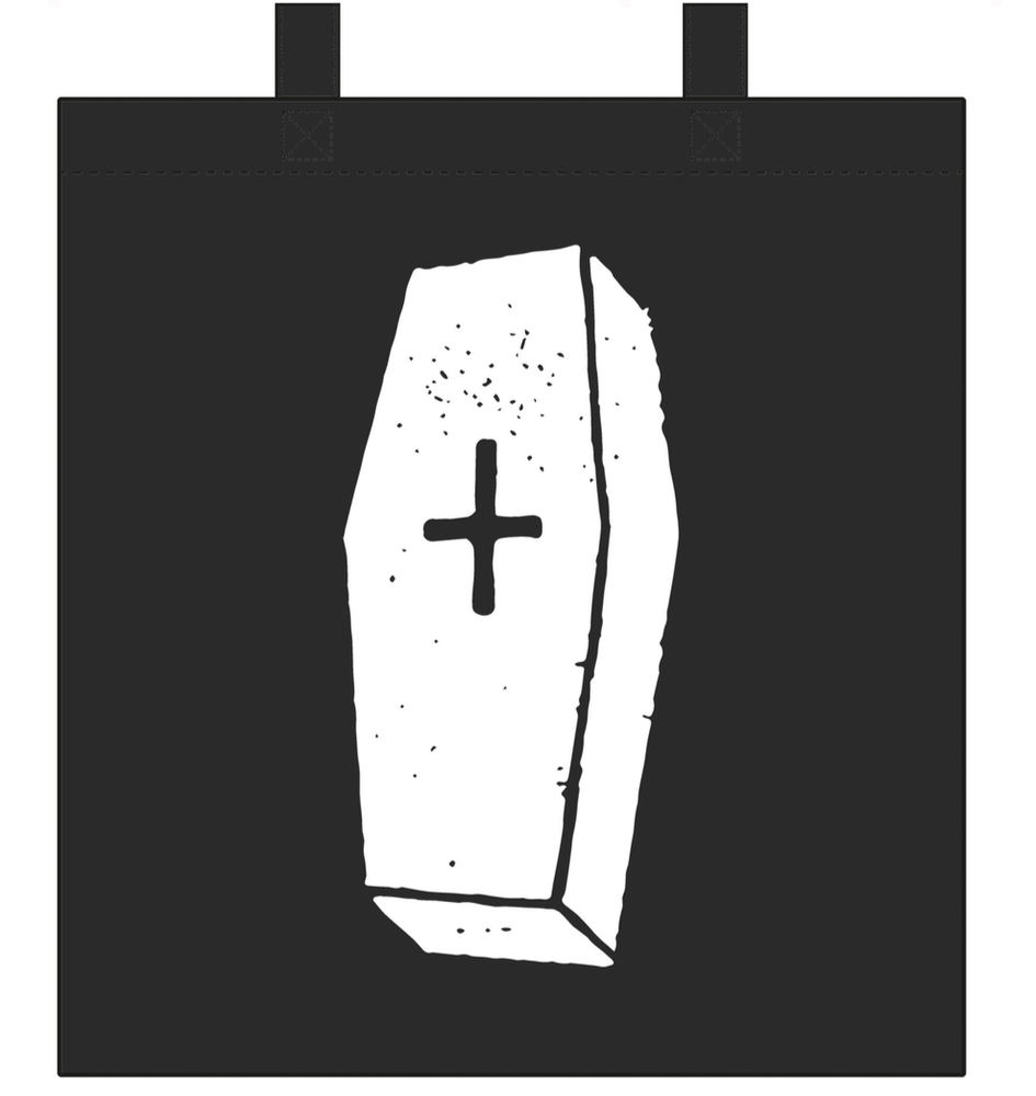 Image of Coffin Tote Bag