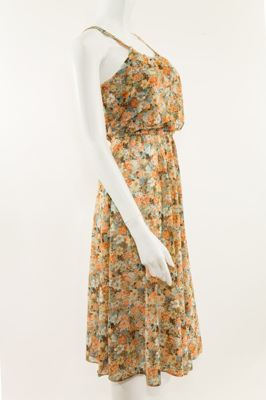 Image of Floral Sheer Dress
