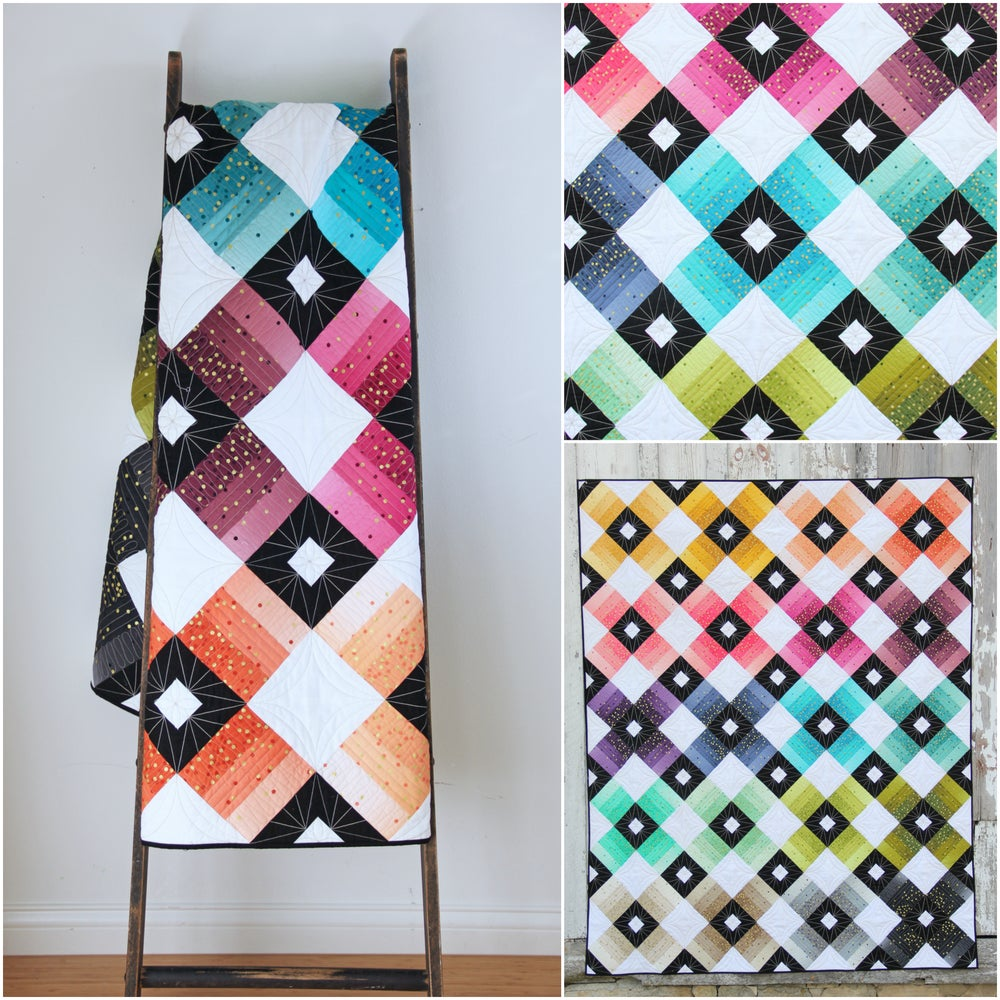 V And Co Ombre Lattice Quilt Pdf