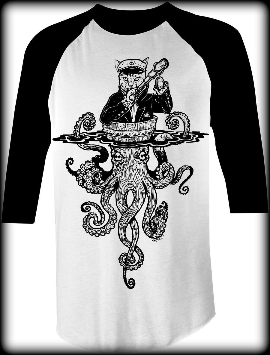 Image of Octo Cat Bball Tee