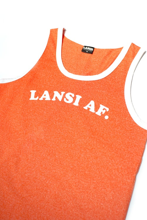 "Image of LANSI ""Abercrombie"" Tank Top (Melange Orange)"