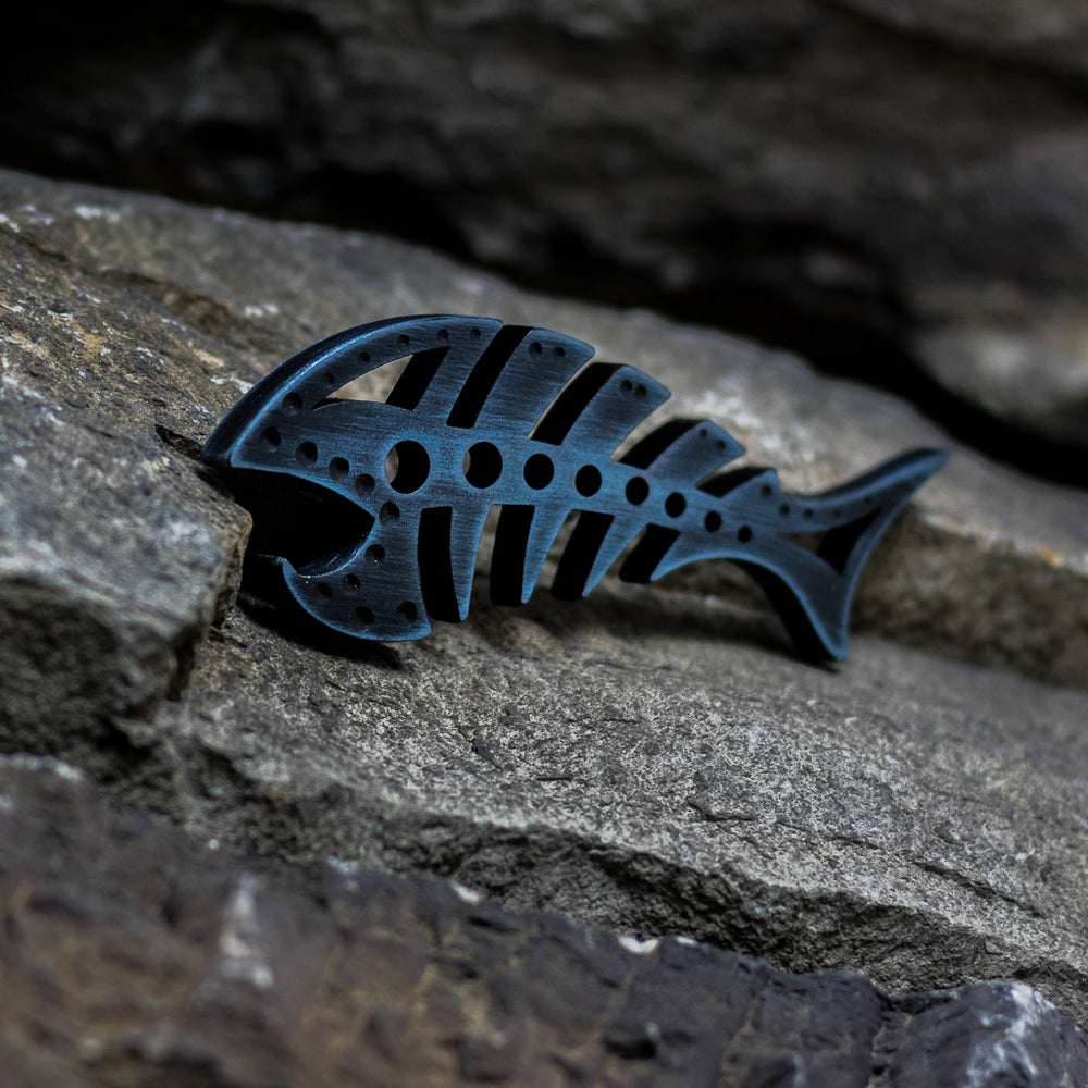 Image of Custom anodized DEADFISH #2
