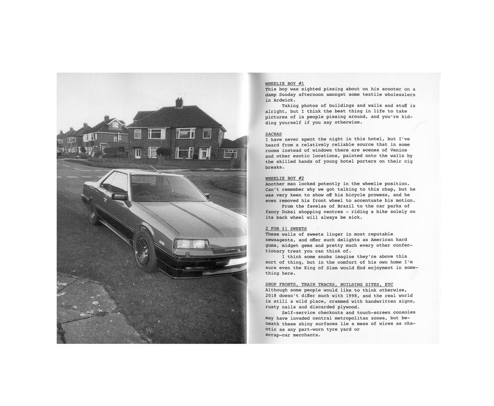 Image of Auto Focus Zine - Sam Waller