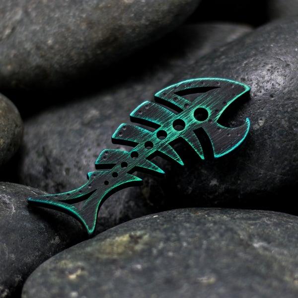 Image of Custom anodized DEADFISH #3