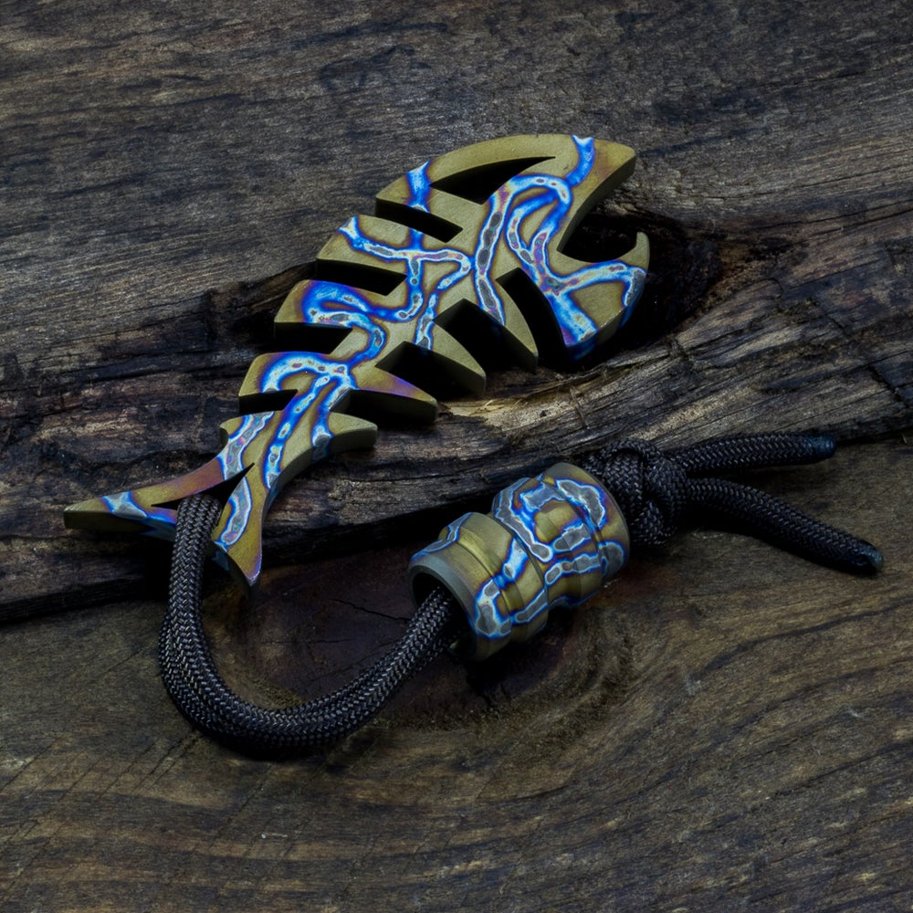 Image of Custom Anodized DEADFISH & Bead Combo #4