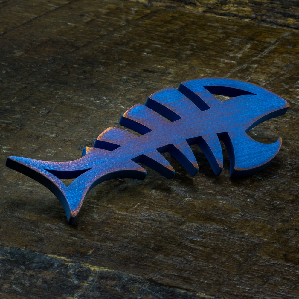 Image of Custom anodized DEADFISH #1