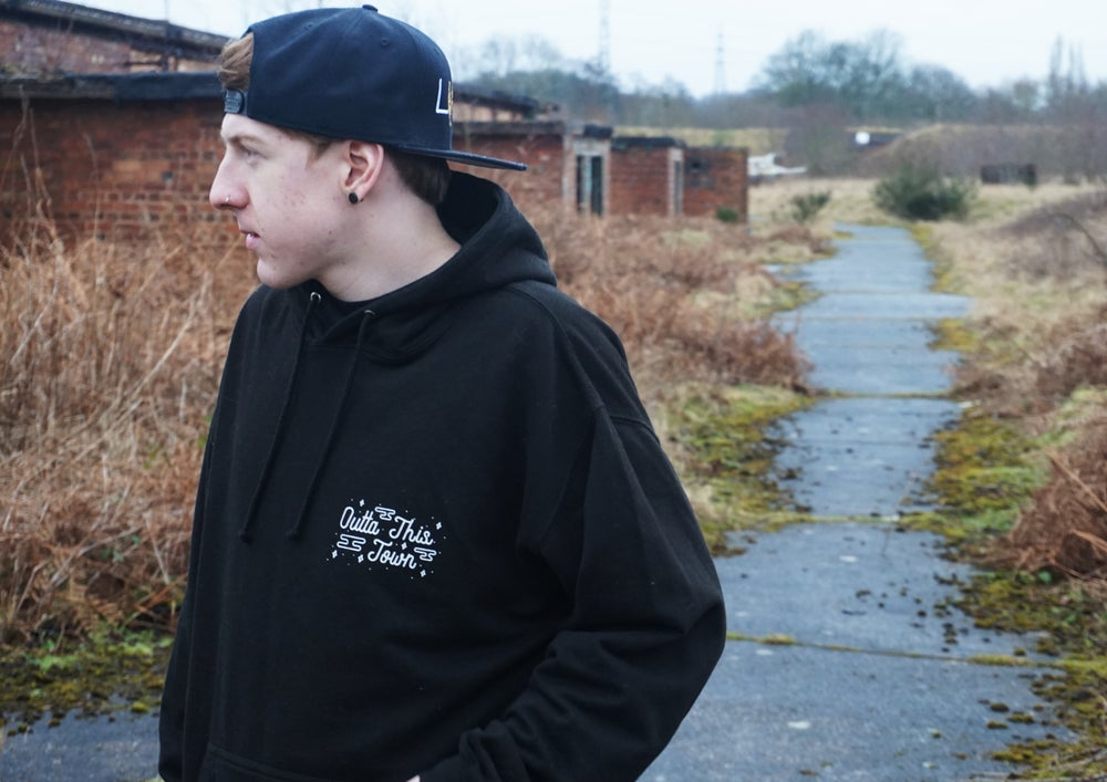 Image of Where I Need To Be Pullover Hoodie Black