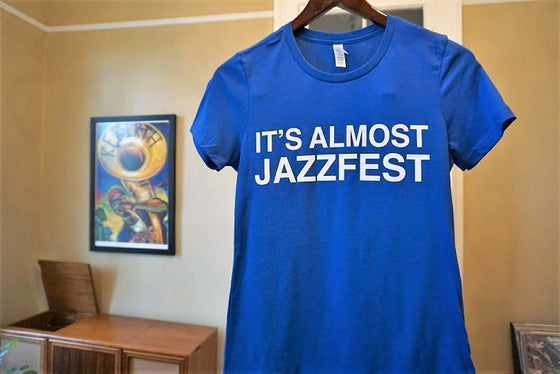 Image of It's Almost Jazzfest - Women's Cut in Cotton