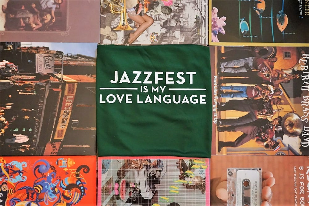 Image of Technical Fabric: Jazzfest is my Love Language