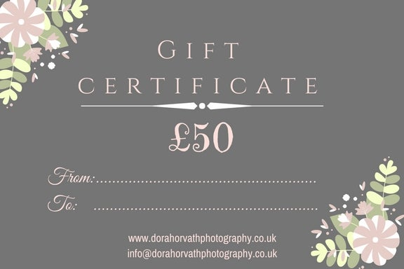 Image of Giftcard from £50