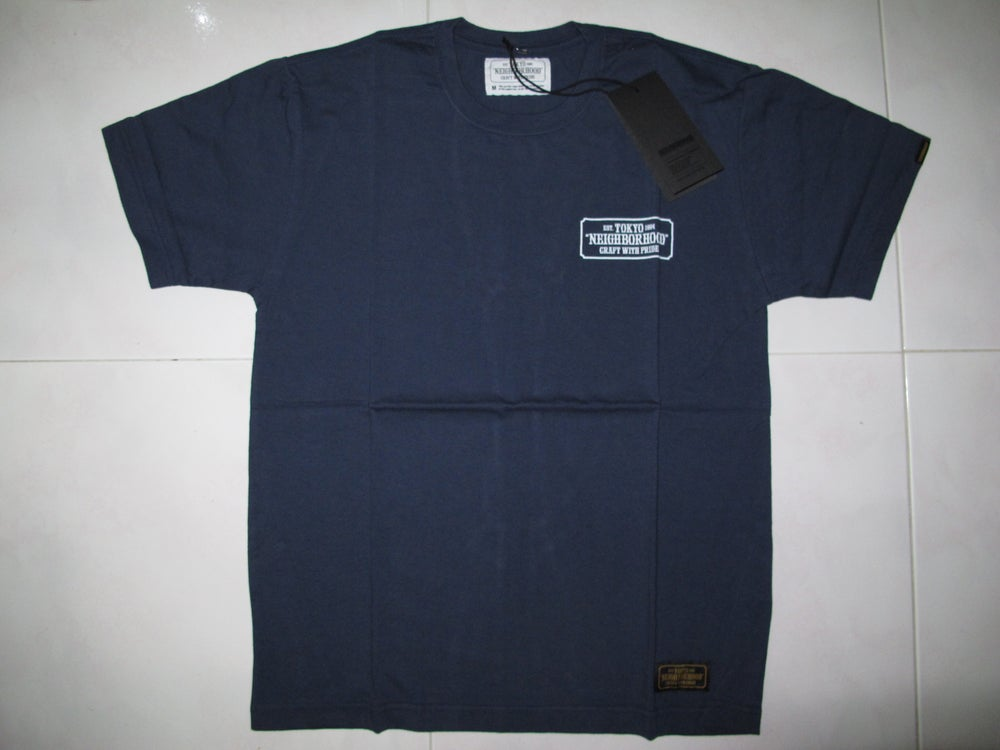 Image of Neighborhood - Bar & Shield Tee (Navy)