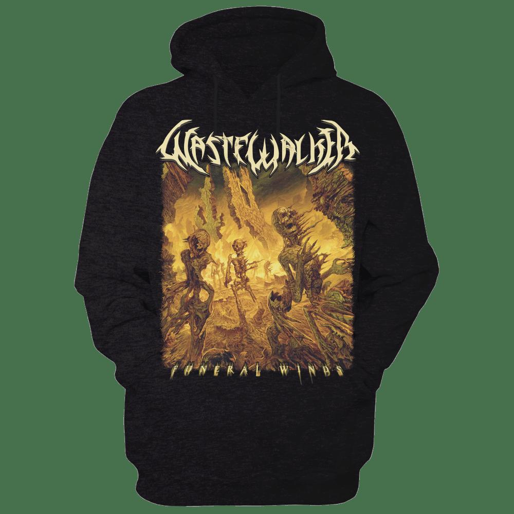 Image of Funeral Winds album art hoodie (FREE CD WITH ALL SHIRT/HOODIE ORDERS THIS WEEK ONLY)