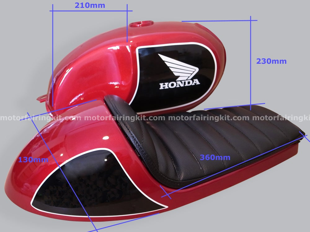 Image of Cafe Racer Set - Fuel Tank & Seat