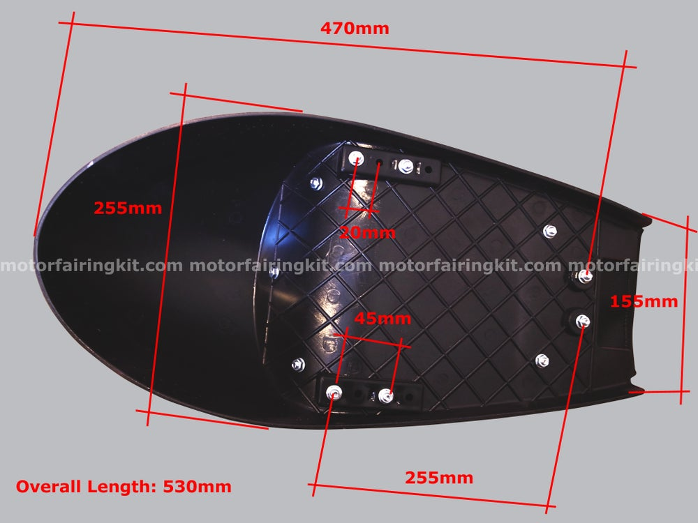 Image of Cafe Racer Set - Fuel Tank & Seat