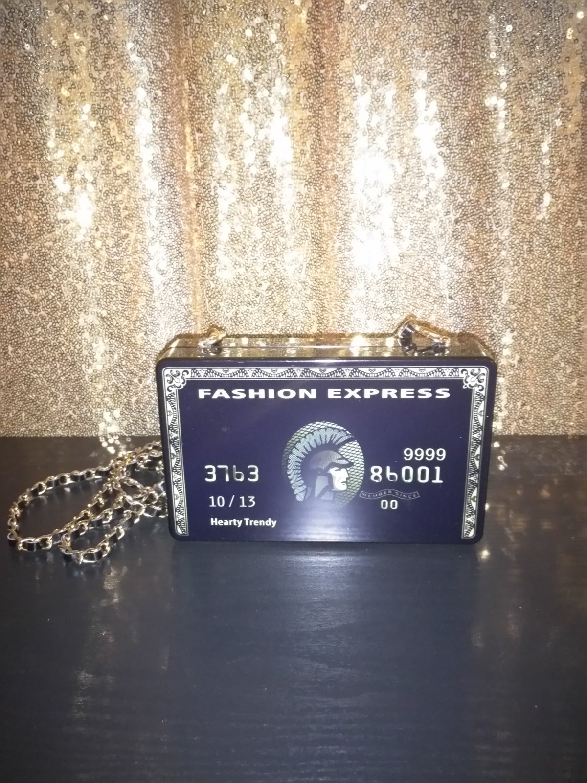 Image of Fashion Credit Card Clutch