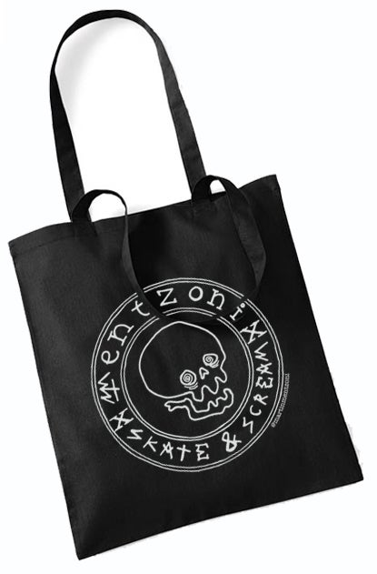 Image of Mentzoni Skull Tote Bag