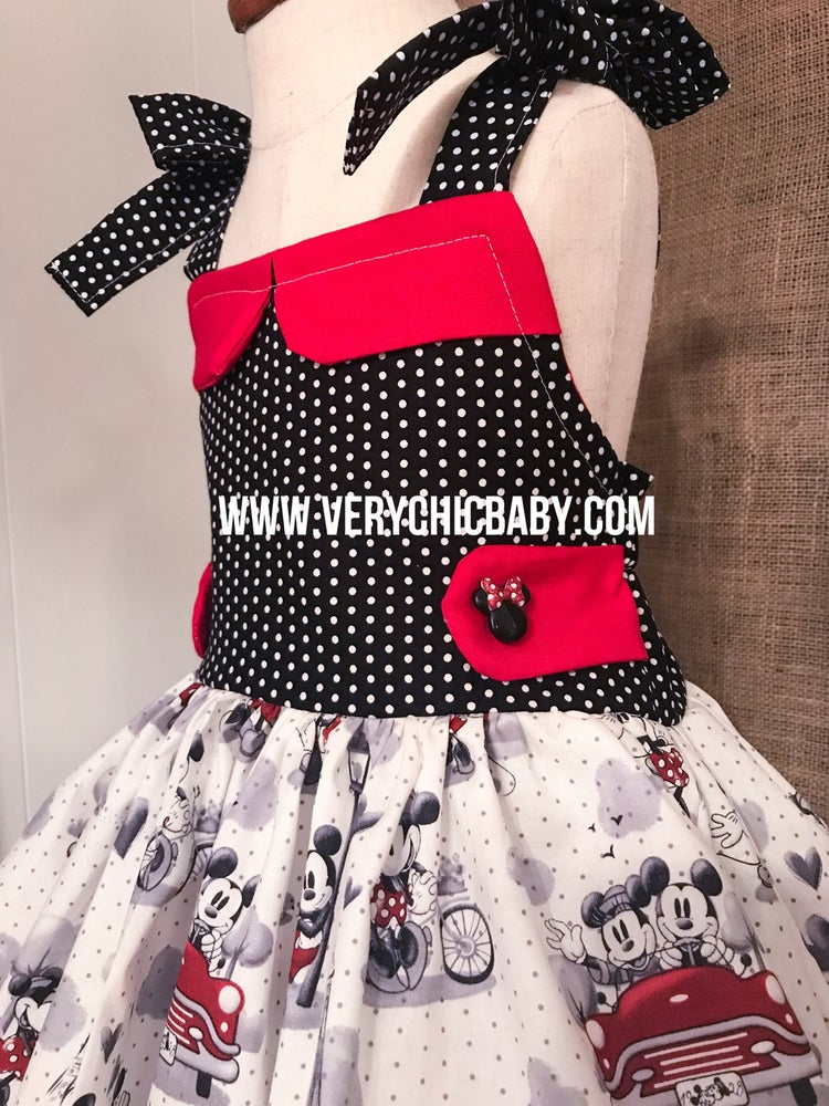 Image of Disney in Paris Dress