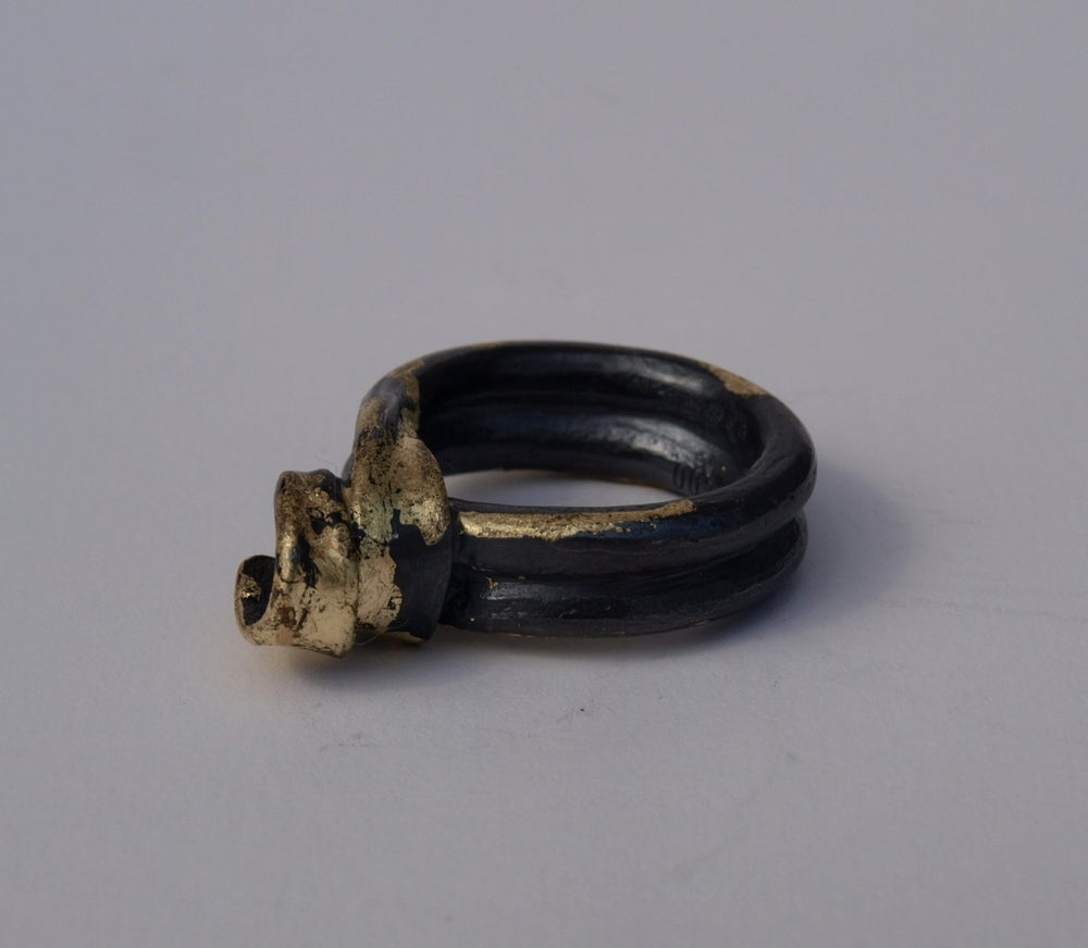 Image of LIMITED COLLECTION OF 100 IRON^LOCK RING AS WORN BY DAENERYS TARGARYEN IN GAME OF THRONES