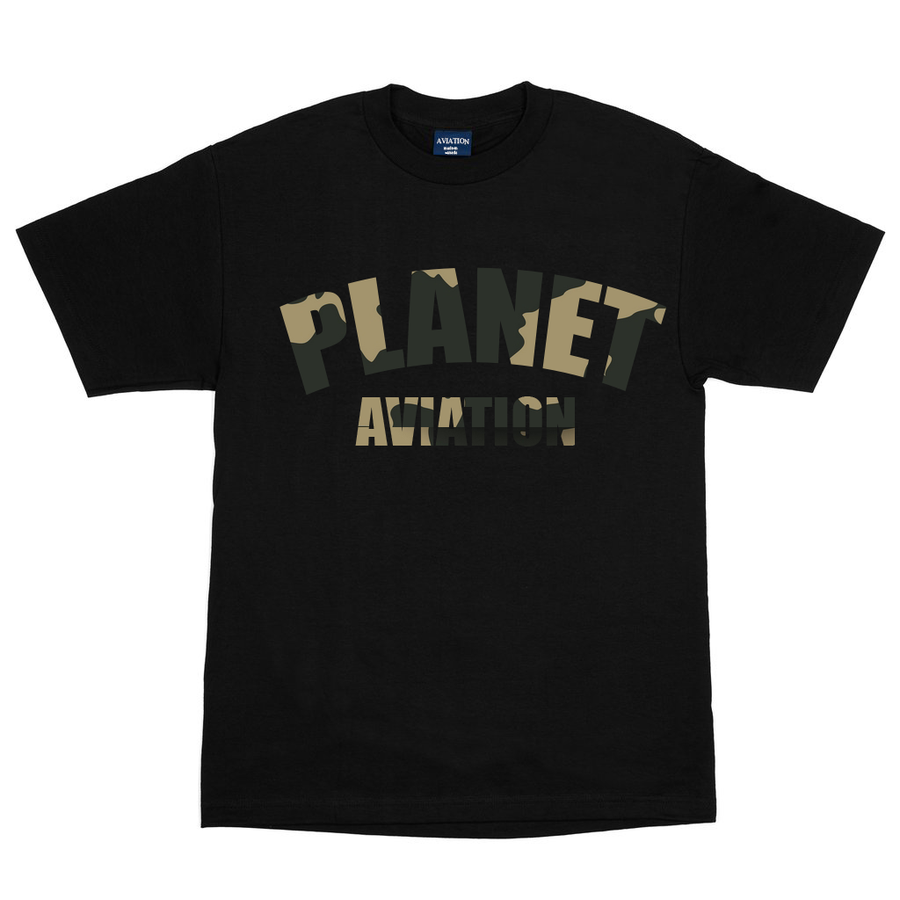 "Image of Aviation ""2 Year Anniversary"" Tee (Black/Camo)"