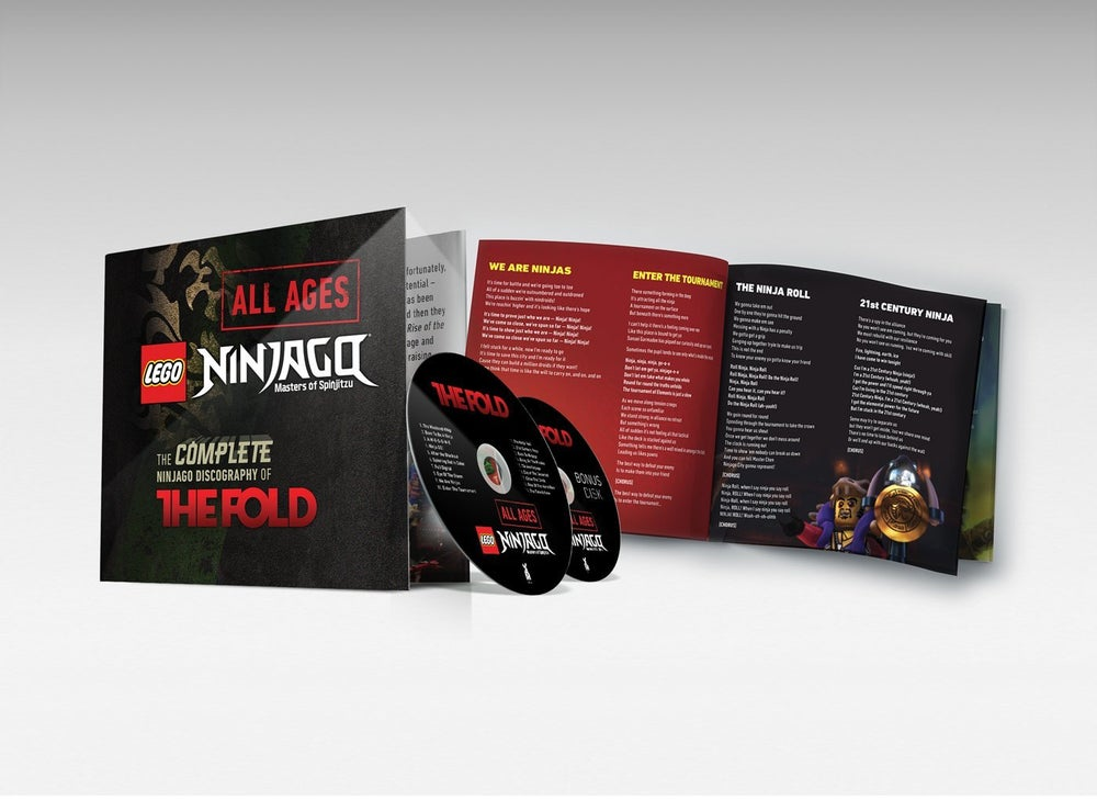 Image of LEGO Ninjago All Ages — The Fold's Complete Discography