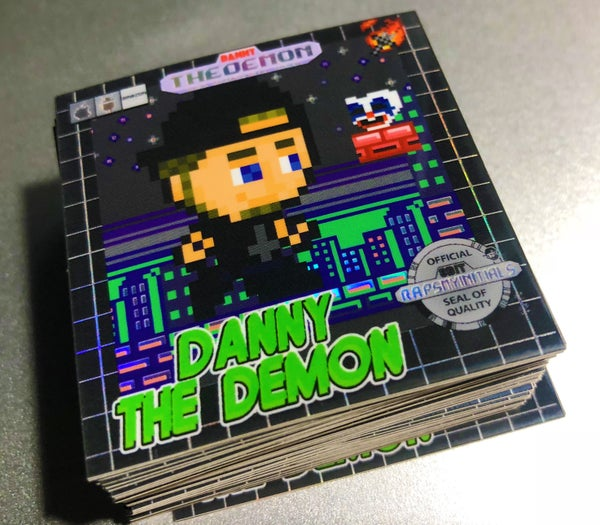 Image of DannyTheDemon - Retro Gaming Sticker