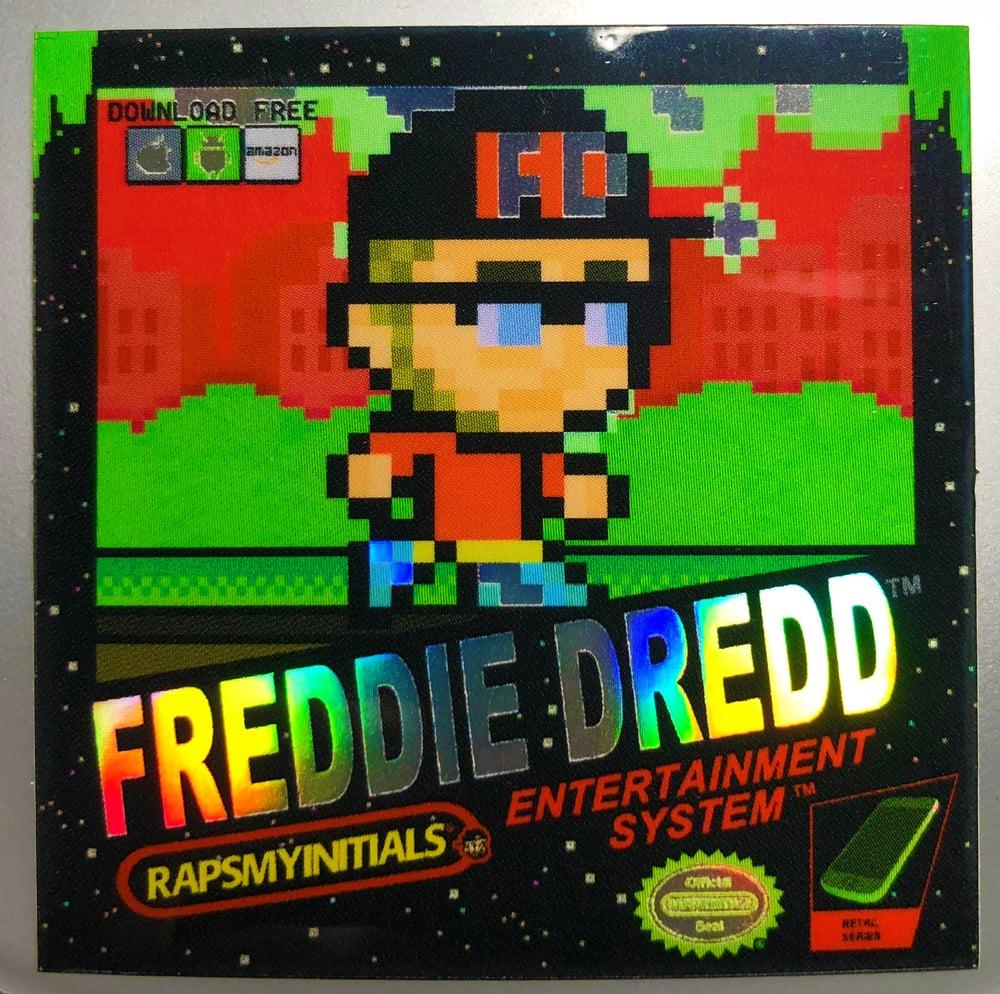 Image of Freddie Dredd - Retro Gaming Sticker