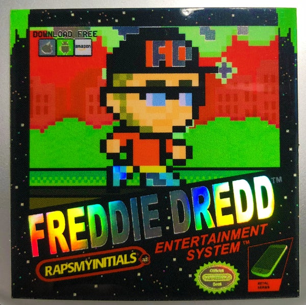 Image of Freddie Dredd - Retro Gaming Sticker