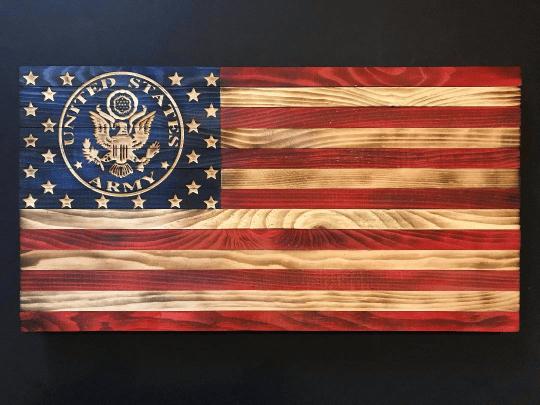 Image of U.S. Army Flag