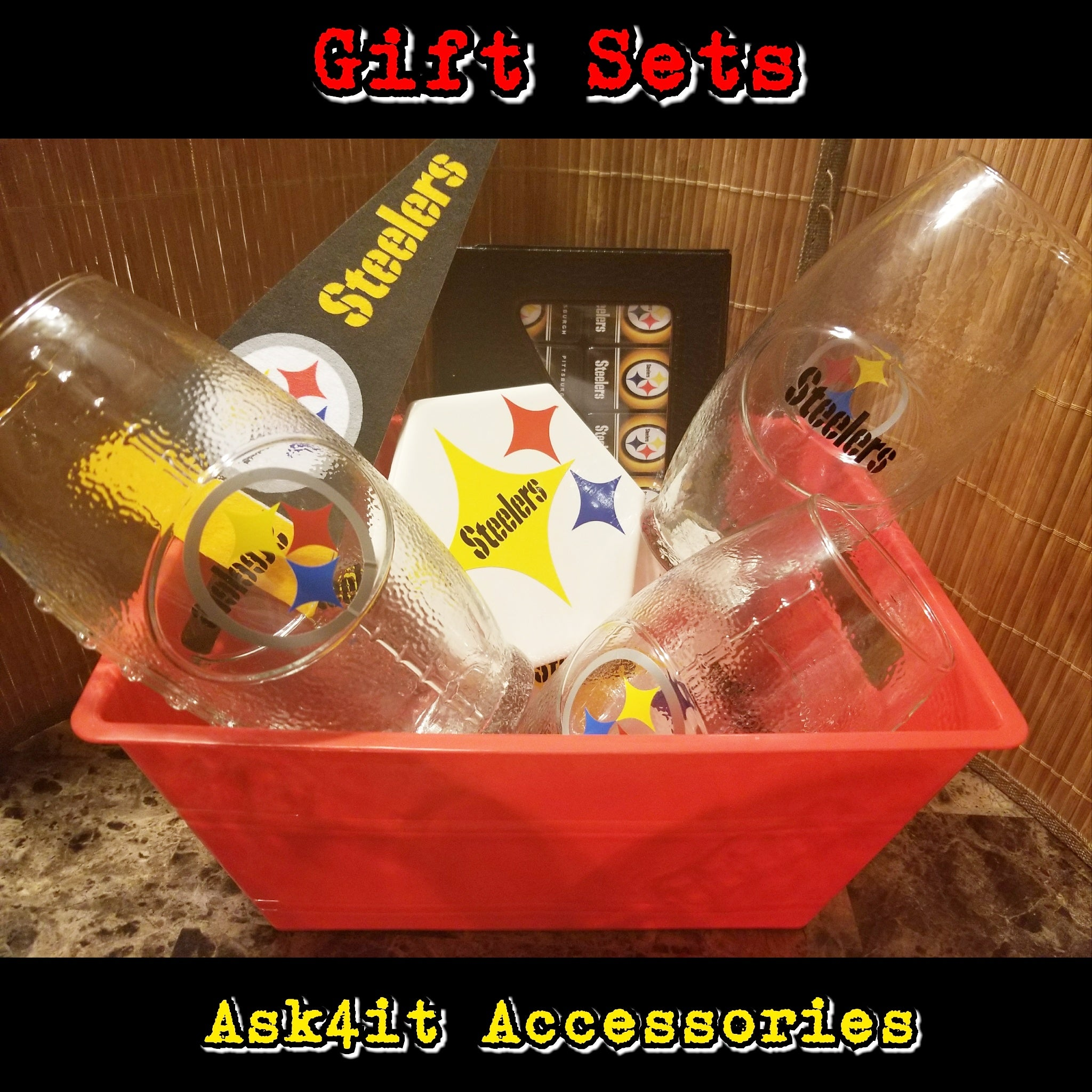 Steelers Gift Set  sc 1 st  Ask4itaccessories & Ask4itaccessories u2014 Steelers Gift Set
