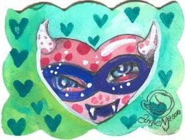 Image of Lil Bit 'O Love Series- Heart 7