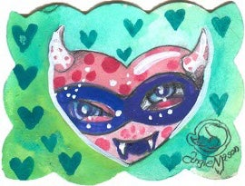 Image of Lil Bit 'O Love Series- Heart 7