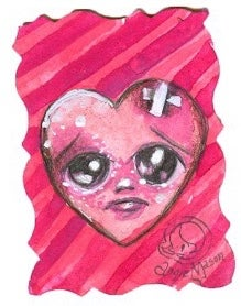 Image of Lil Bit 'O Love Series- Heart 12