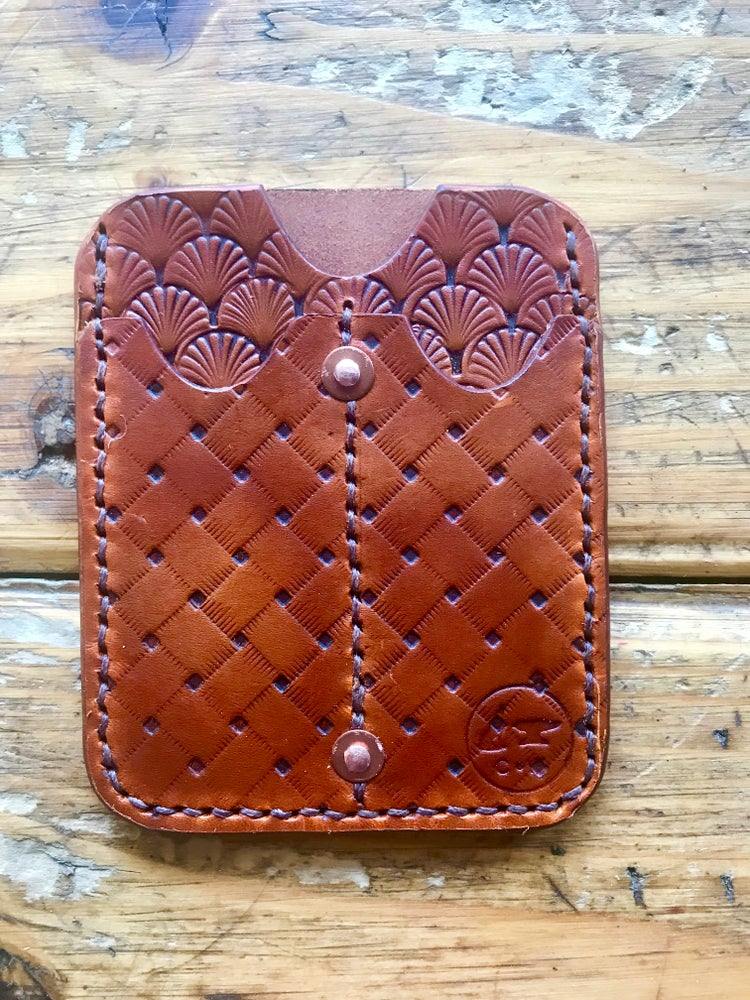 "Image of ""Saint Michael"" EDC Slip Wallet"