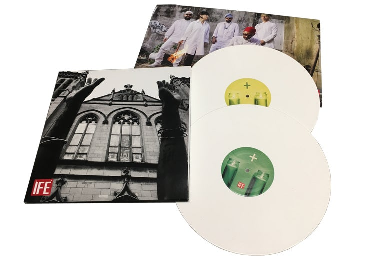 Image of ÌFÉ IIII+IIII Double LP on Limited Edition White Vinyl + Digital Download